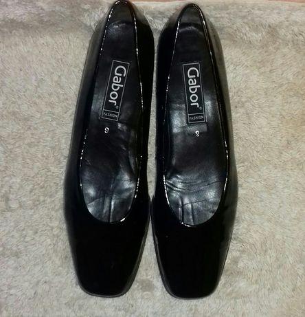 Женские чёрные лаковые туфли раз. 43 44 туфлі р. 43 44 большой размер