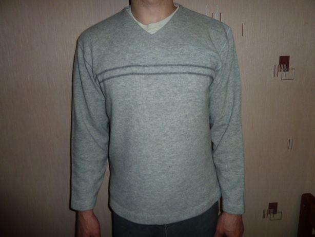 next Шерстяной свитер , р L с V-образным вырезом длина 69, ширина 59,