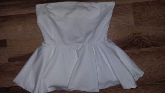 Zara bluzka baskinka top nowa xs 34