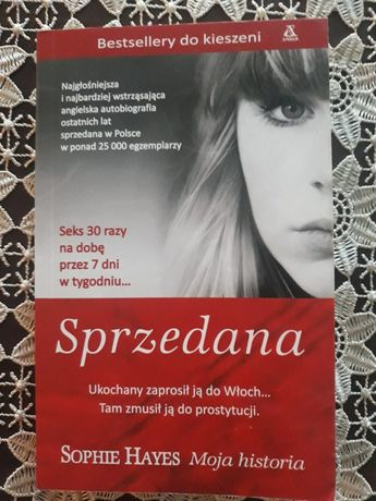 Książka pt. SPRZEDANA