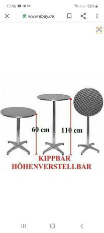 Стол барный аллюминиевый 2в1 складной VERTRIEBS GmbH  Германия