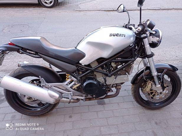 Ducati monster 800 zadbany sprawny zamiana na auto cena do negocjacji