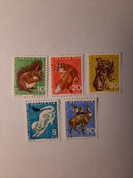 Znaczki pocztowe - zestaw 2