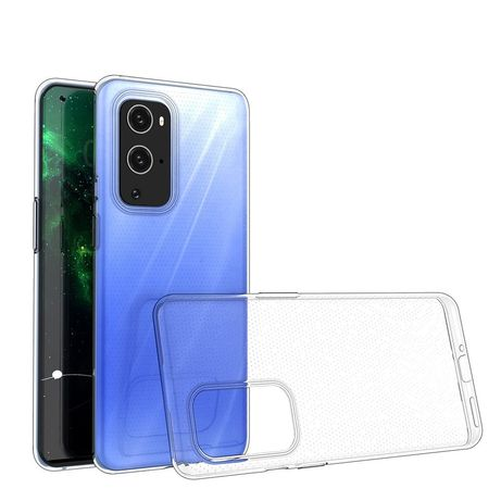 Capa Silicone Ultra Clear 0.5Mm Gel Oneplus 9 Pro Transparente