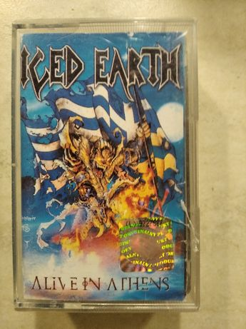 Iced Earth - Alive in Athens - 2xkaseta Album Live