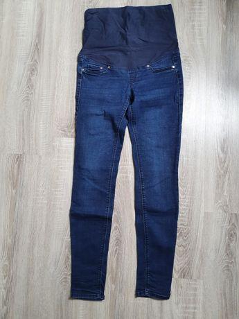 Spodnie ciążowe H&M mama M 38 jeansy, dżinsy
