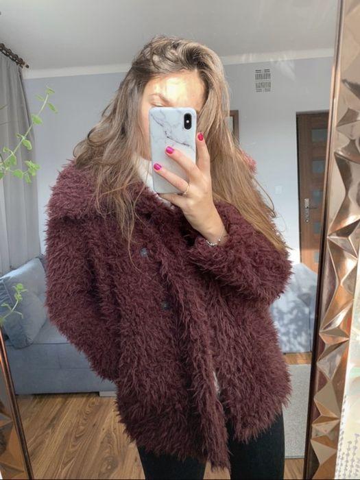 Płaszcz kurtka miś futerko Reserved Zamość - image 1