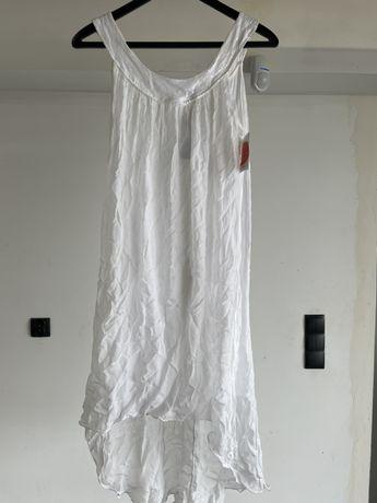 Śkiczna zwiewna sukienka nowa rozm36