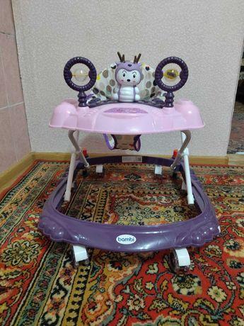 Дитячі ходунки Bambi M 3168 G Фіолетові