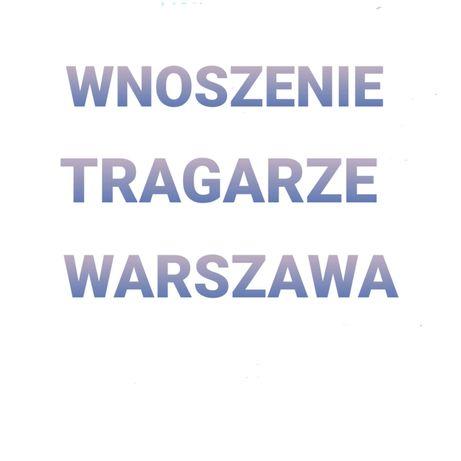 Tragarze! Wnoszenie mebli Warszawa i okolice