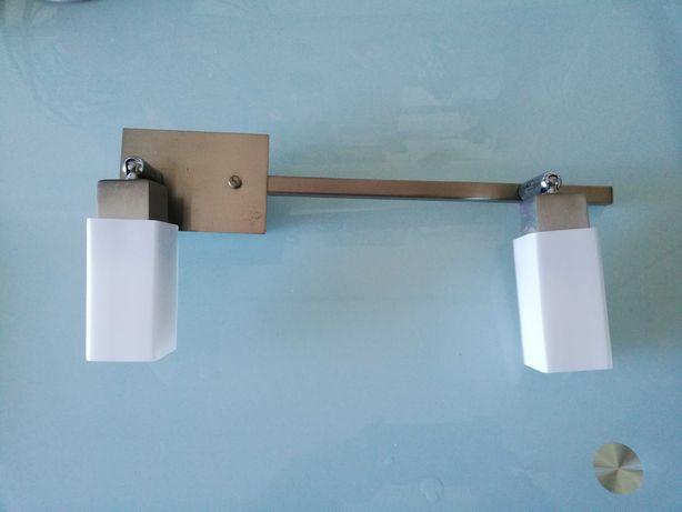 Candeeiro de tecto ou parede tipo focos com duas lampadas