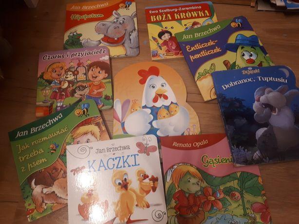 Zestaw 9 książek twarde strony Brzechwa i inne