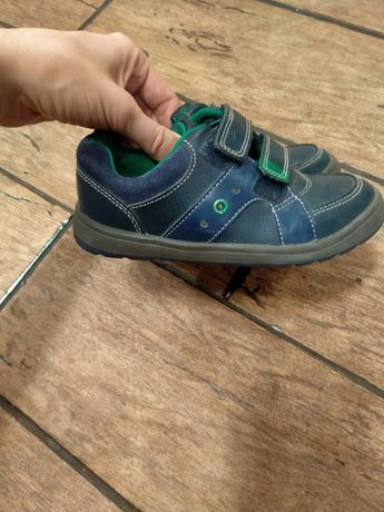 Clarks мокасины кожаные светящиеся кроссовки полуботинки