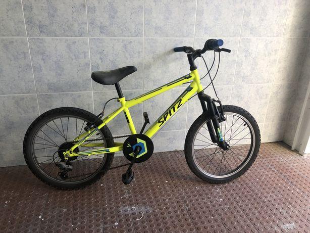 Bicicleta de criança spitz rush 205