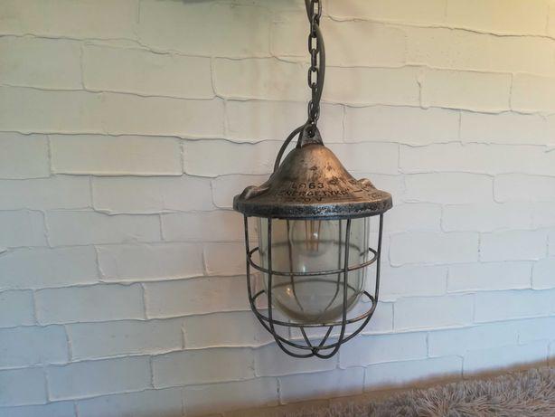 Lampa z PRL, stan idealny, odrestaurowana