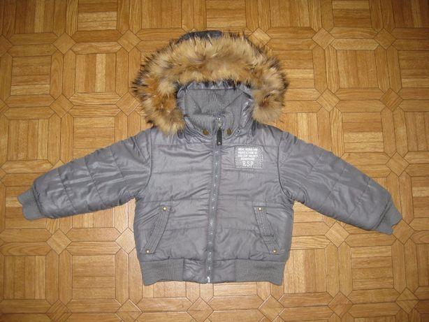 Куртка теплая на зиму Didi Cerf 3 года 98 размер дешево, качество
