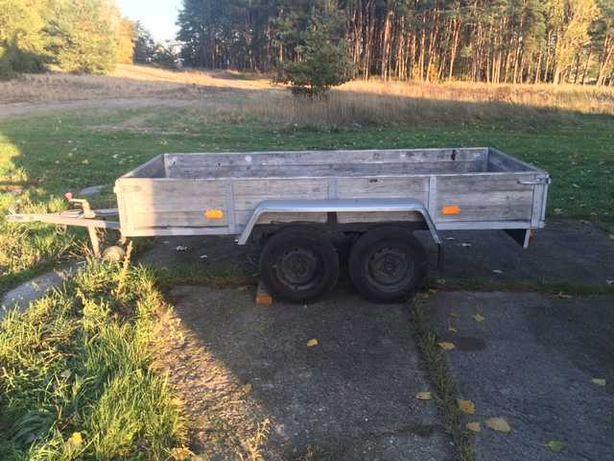 Przyczepa // dwie osie  // do 750 kg