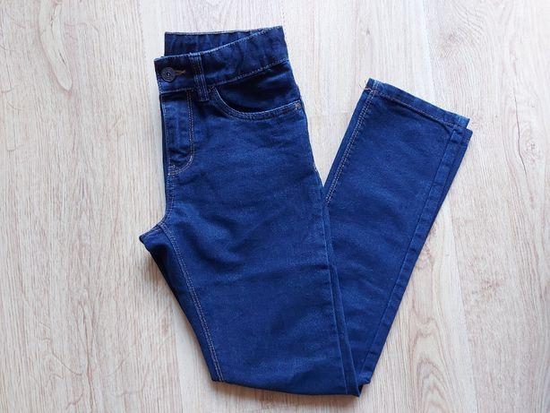 Spodnie jeansowe chłopięce. Rozmiar 146.