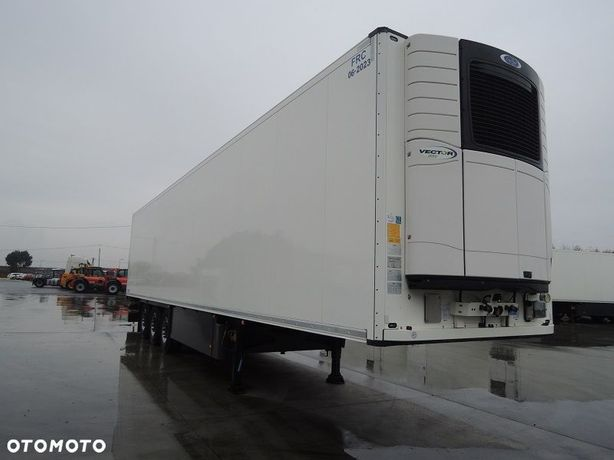 Schmitz Cargobull Doppelstock Z Carrier Vector 1550  Chłodnia