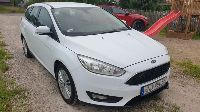 Ford Focus Salon Polska Bezwypadkowy. Rej. 2016 Rok.