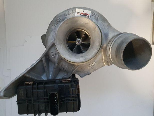 Turbosprężarka-hybryda BMW 3.5,X3 2.0 D 184KM na wzmocnionych łożyska