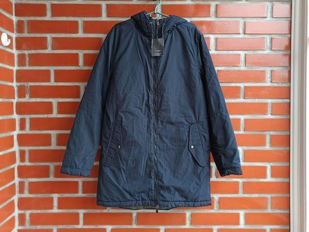 Lefties ZARA НОВАЯ синяя мужская куртка парка размер М