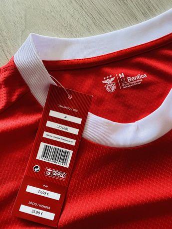 Benfica (SLB) - Réplica Oficial Camisola Principal 2019/2020 - M