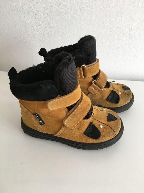 Zimowe buty trzewiki nieprzemakalne membrana te-por Mido rzepy 24