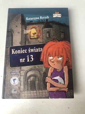 """Książka """"koniec świata nr 13"""""""