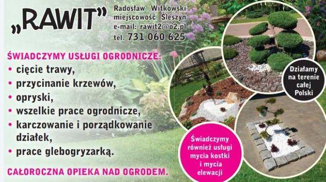 Usługi ogrodnicze