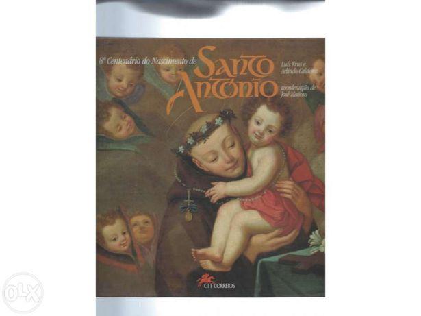 Livro 8º centenario do nascimento santo antonio
