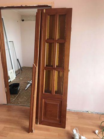 Деревянные Межкомнатные двухстворчатые двери
