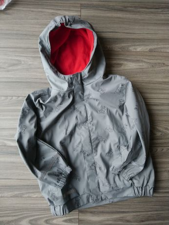 Świetna gumowana kurtka na jesień na deszcz z polarkiem X-Mail 116/122