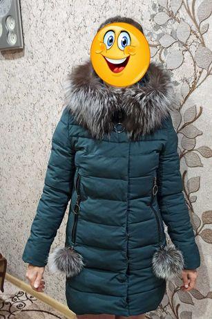 ЯК НОВА!!! Зимняя куртка пуховик 42 (S)