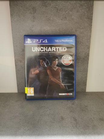 Uncharted Zaginione Dziedzictwo ~PL~ PS4 ( LUBLINIEC ) Wymiana