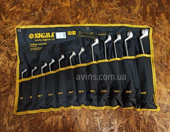 Набор накидных ключей 12 шт 6-32 мм накидні ключі усиленные накидних