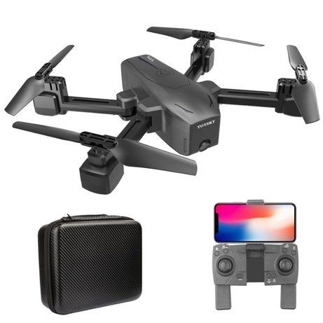 Квадрокоптер с двумя камерами Ultra HD 4K и 720р TS S176 Black + сумка