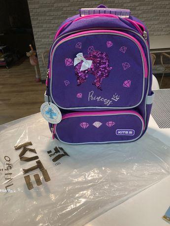 Новый каркасный ортопедический рюкзак Kite оригинал , 6-9 лет