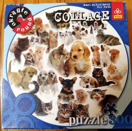 puzzle okrągłe 300 elementów