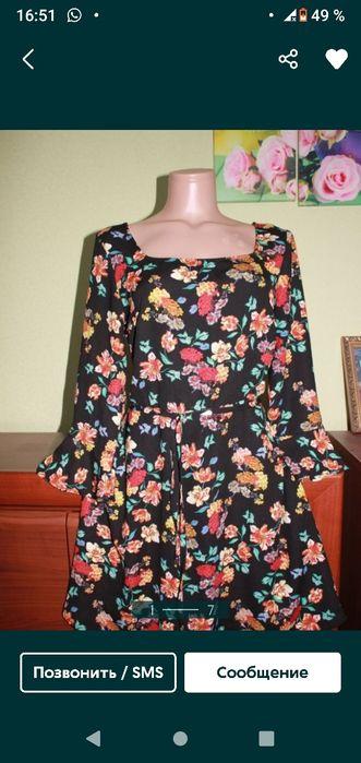 Лёгкое платье с цветочным принтом Бердянск - изображение 1