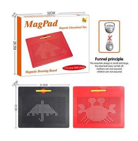 Магнитный планшет для рисования с ручкой MagPad большой