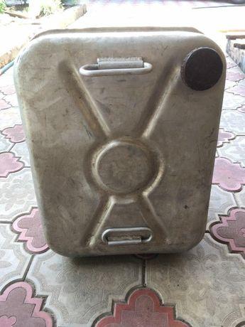 Канистра алюминиевая 40л качество СССР