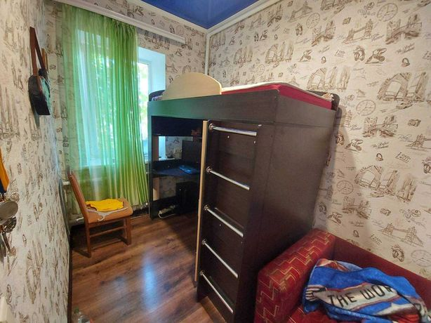 Продам кровать-чердак 80х190 с матрасом