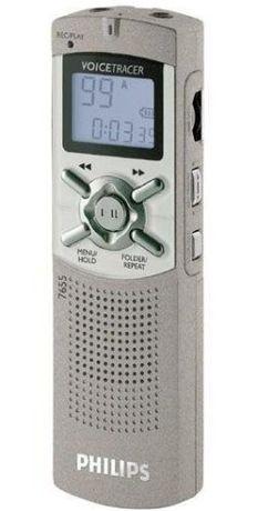 Gravador de voz Voice tracer 7655 philips
