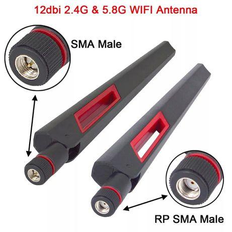 wifi антенна Rp sma, SMA male, вайфай