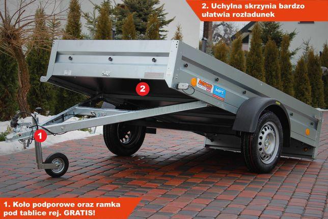 Przyczepka Neptun 253x129x30 cm N7 253 PTW pratik Nowa Kiprowana