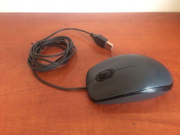 Мышка компьютерная Logitech M100 Usb. Рабочее состояние.
