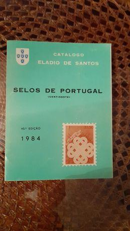 Catálogo selos Portugal Continental Eládio Santos 1984