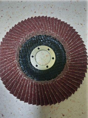 Tarcze,tarczki listkowe,lamelki do szlifowania metalu 125 mm
