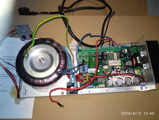 Merawex ZSP 135DR7A1 zasilacz sygnalizacji i automatyki pożarowej
